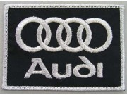AUDI AUTOMOBILE IRON ON EMBROIDERED PATCH #03