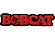 BOBCAT TRACTOR LOGO EMBROIDERED PATCH #02