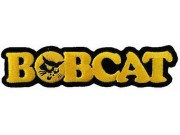 BOBCAT TRACTOR LOGO EMBROIDERED PATCH #03