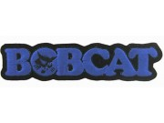 BOBCAT TRACTOR LOGO EMBROIDERED PATCH #05