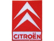 CITROEN AUTO RACING IRON ON EMBROIDERED PATCH #01