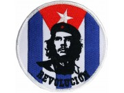 CHE GUEVARA CUBA SUPER HERO EMBROIDERED PATCH #01