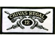 CHIVAS REGAL WHISKEY IRON ON EMBROIDERED PATCH #02