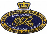 MALAYSIA CLASSIC & VINTAGE CAR CLUB EMBROIDERED PATCH