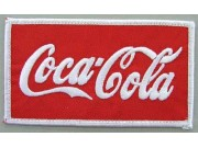 Coca-Cola Soda Iron On Embroidered Patch #01