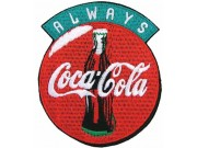 Coca-Cola Soda Iron On Embroidered Patch #05