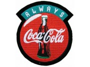 Coca-Cola Soda Iron On Embroidered Patch #06