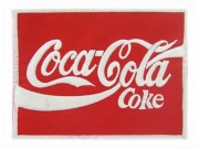 Coca-Cola Soda Iron On Embroidered Patch #08