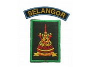 BSM DISTRICT STRIPS - SELANGOR PATCH