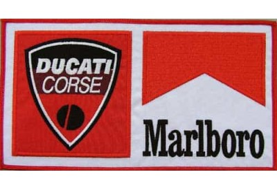 GIANT DUCATI MARLBORO BIKER EMBROIDERED PATCH (P1)