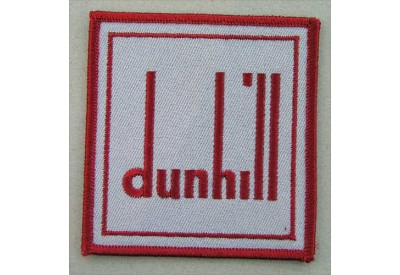 DUNHILL IRON ON EMBROIDERED PATCH #02