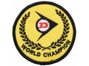 DUNLOP TIRE TYRE EMBROIDERED PATCH #04