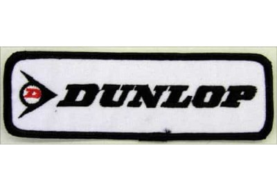 DUNLOP TIRE TYRE EMBROIDERED PATCH #08
