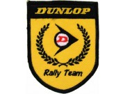 DUNLOP TIRE TYRE EMBROIDERED PATCH #09