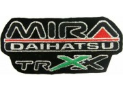 DAIHATSU RACING SPORT IRON ON EMBROIDERED PATCH #04