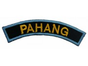 BSM DISTRICT STRIPS - PAHANG EMBROIDERD PATCH