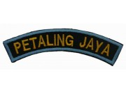 BSM DISTRICT STRIPS - PETALING JAYA EMBROIDERD PATCH