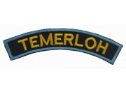 BSM DISTRICT STRIPS - TEMERLOH EMBROIDERD PATCH
