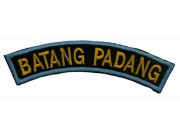 BSM DISTRICT STRIPS - BATANG PADANG EMBROIDERD PATCH