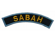 BSM DISTRICT STRIPS - SABAH EMBROIDERD PATCH