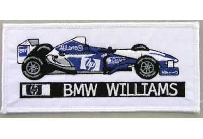 BMW WILLIAMS F1 RACING EMBROIDERED PATCH #06