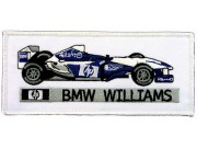 BMW WILLIAMS F1 RACING EMBROIDERED PATCH #07