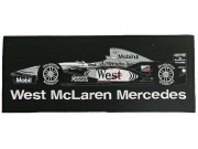 GIANT WEST MCLAREN F1  EMBROIDERED PATCH (L1)