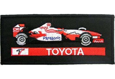 Toyota F1 Racing Car Embroidered Patch #16