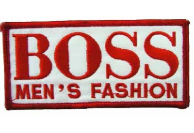 Hugo Boss F1 Team Racing Embroidered Patch #03