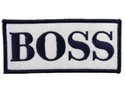 Hugo Boss F1 Team Racing Embroidered Patch #06