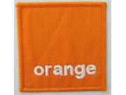 Orange F1 Team Racing Embroidered Patch