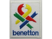 BENETTON RACING EMBROIDERED PATCH #01