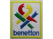 BENETTON RACING EMBROIDERED PATCH #02