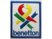 BENETTON RACING EMBROIDERED PATCH #03