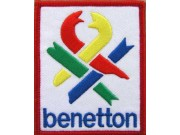 BENETTON RACING EMBROIDERED PATCH #04