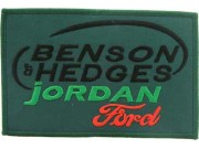 BENSON & HEDGES JORDAN RACING SPORT EMBROIDERED PATCH #05