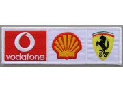 FERRARI RACING EMBROIDERED PATCH #06