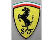 FERRARI RACING EMBROIDERED PATCH #11