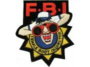 FBI FEMALE BODY INSPECTOR PUNK & ROCK PATCH #01