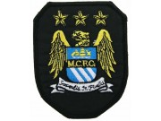 MANCHESTER CITYFOOTBALL CLUB SOCCER EMBROIDERED PATCH #02