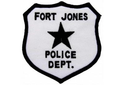 FORT JONES CALIFORNIA POLICE PATCH