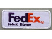 FedEx LOGO IRON ON EMBROIDERED PATCH #03