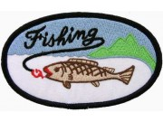Fishing Sport Embroidered Patch