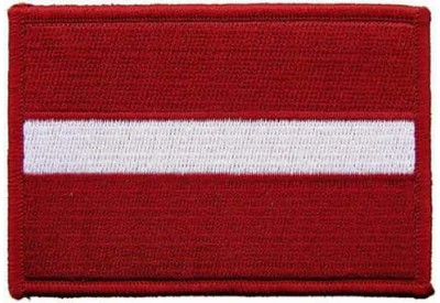 LATVIA FLAG (C)