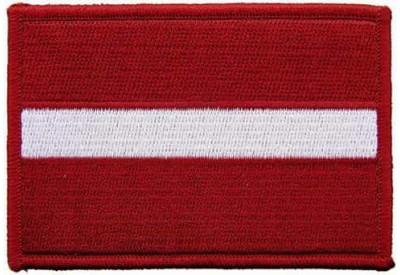LATVIA FLAG (C)