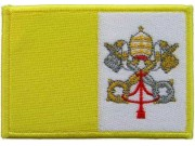 VATICAN CITY (HOLY SEE) FLAG PATCH (C)