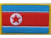 "Korea, North Flags ""Without Text"""