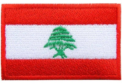 "Lebanon Flag ""Without Text"""