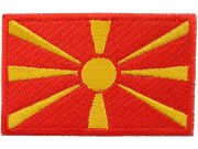 """Macedonia Flag """"Without Text"""""""