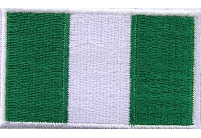 "Nigeria Flags ""Without Text"""